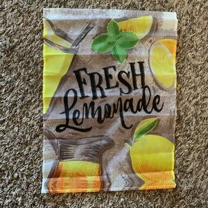 Other - Fresh Lemonade Garden Flag